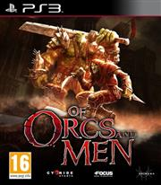 Of Orcs and Men PlayStation 3