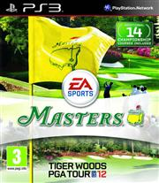 Tiger Woods PGA Tour 12 The Masters PlayStation 3
