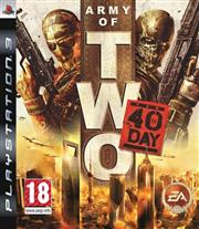 Army of Two The 40th Day PlayStation 3