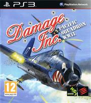 Damage Inc. Pacific Squadron WWII PlayStation 3