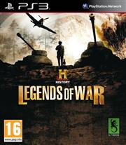 History Legends of War PlayStation 3