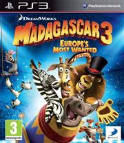 Madagascar 3 Europe's Most Wanted Playstation 3