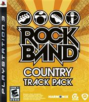 Rock Band Country Track Pack PlayStation 3