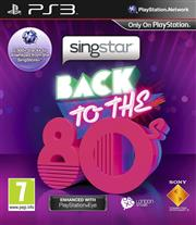 SingStar Back to the 80s PlayStation 3