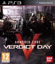 Armored Core Verdict Day PlayStation 3