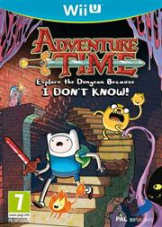Adventure Time Explore The Dungeon Because I Don't Know Wii U
