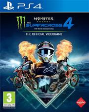 Monster Energy Supercross 4 Playstation 4
