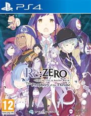 Re:ZERO Starting Life in Another World - The Prophecy of the Throne Playstation 4