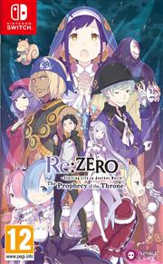Re:ZERO Starting Life in Another World - The Prophecy of the Throne Nintendo Switch