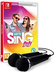 Let's Sing 2021 + 2 Microfoons Nintendo Switch